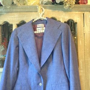 Evan Picone Denim inspired blazer by Saks 5th Ave